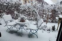 Sněhová nadílka na Klatovsku pohledem čtenářů.