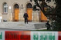 Soud v Klatovech musel být kvůli bombě vyklizen