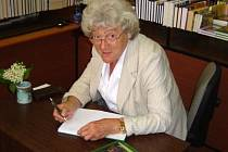 Marie Malá na autogramiádě v Sušici