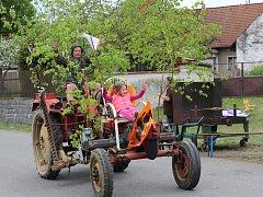 První máj v Plichticích.