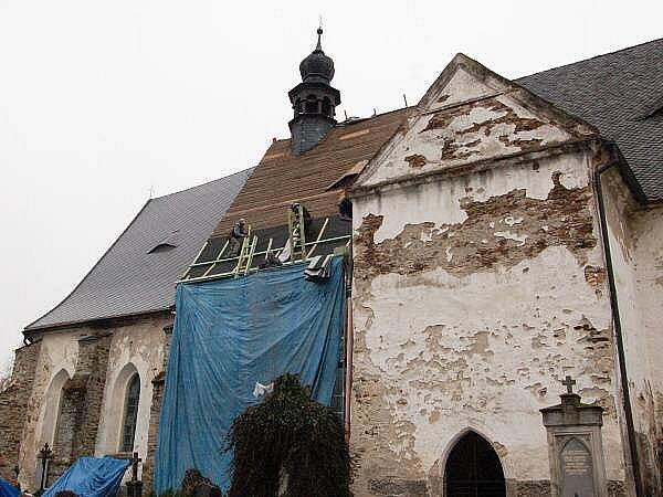 Kostel sv. Máří Magdalény u Velhartic