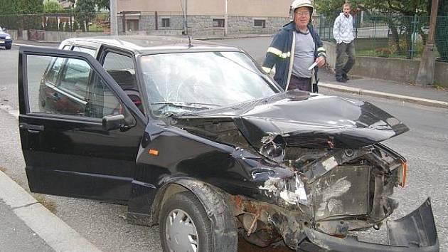 Páteční nehoda v Klatovech