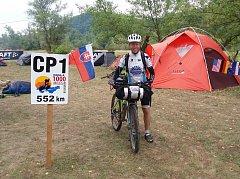 Lukáš Frčka z Klatov na trati závodu 1000 Miles Adventure