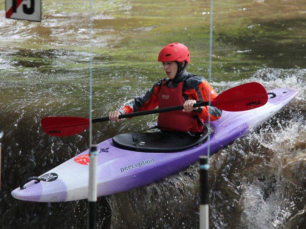 Český pohár vodáků 2016: závod na Úhlavě v Nýrsku