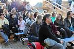 V sobotu se na Kašperku konal benefiční koncert pro Štefana Kanaloše, který po nehodě skončil na vozíku.