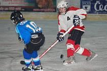Hokej mladší žáci HC Klatovy - TJ Stadion Cheb