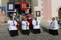 V Kašperských Horách slavili pouť