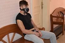 Petr F. ze Sušice čeká u klatovského soudu na vazební zasedání.