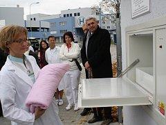 Bybybox v nové nemocnici v Klatovech