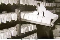 Sýrárna v Plánice v roce 1960.