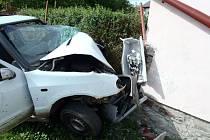 Tragická nehoda v Kašperských Horách
