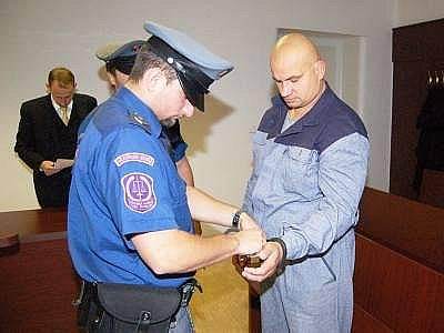 Jaroslav Bartoš u klatovského soudu