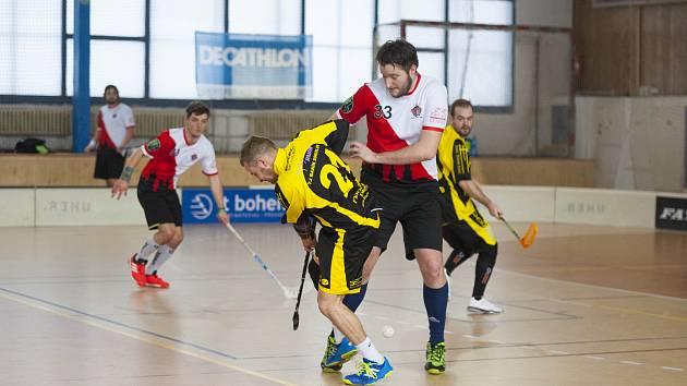 Hrající trenér A týmu Klatov Jan Polomis (na archivním snímku hráč v červenobílém dresu) hodnotil sezonu.