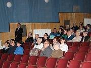 Večer Karla Klostermanna v kašperskohorském kině