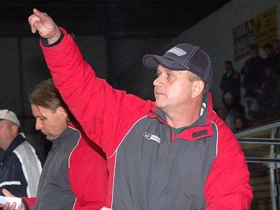 Trenér klatovských hokejistů Pavel Čuban