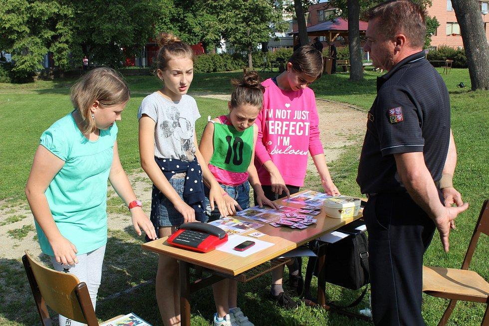 Malý záchranář a den IZS v Horažďovicích
