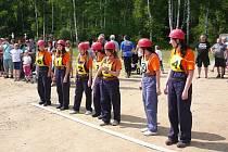 Okrsková soutěž hasičů v Čiháni