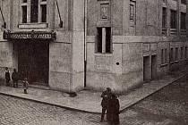 Klatovské divadlo v roce 1920