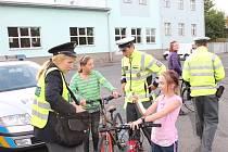 Při středeční akci se policisté zaměřili na cyklisty.