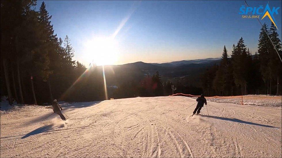 Ski & Bike Špičák 2. ledna 2020