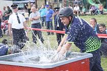Další kolo Pošumavské hasičské ligy se konalo ve Slavošovicích.