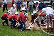 V Sušici se utkali mladí hasiči i dorostenci.