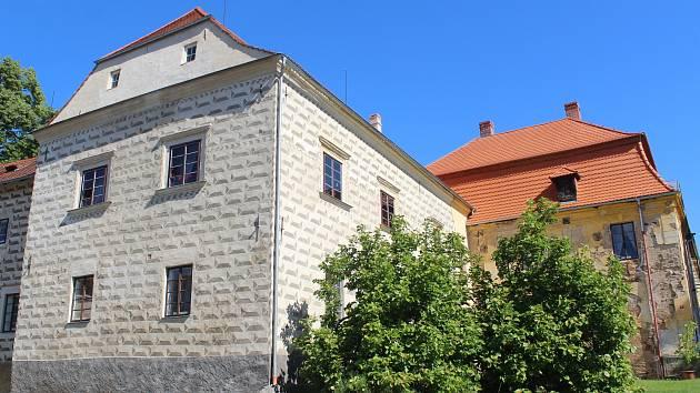 Zámek Chudenice. Ilustrační foto.
