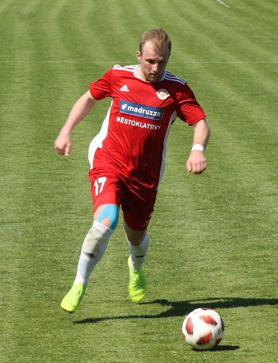 Michal Lukeš vstřelil proti Hořovicím svou třetí branku v sezoně.
