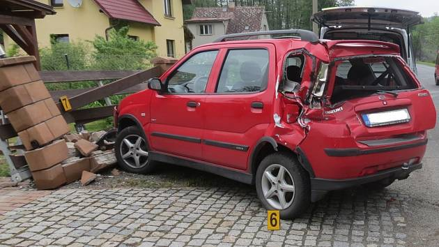 Nehoda v Sušici.