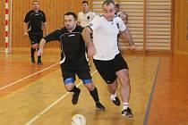 Halový fotbalový turnaj mužů v Plánici.