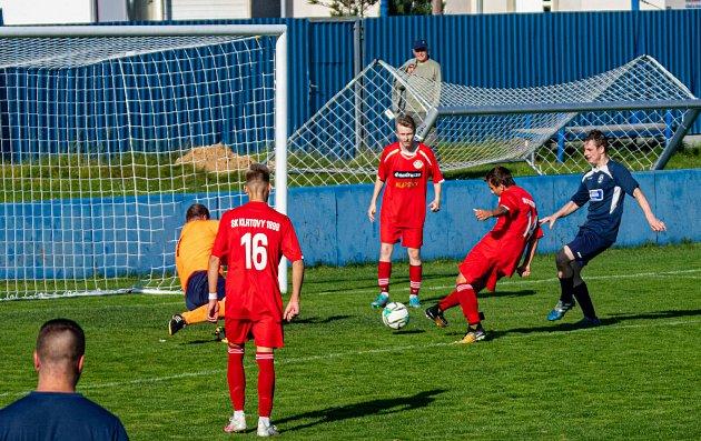 I. B třída: SK Klatovy 1898B (červení) - Kasejovice 3:1.