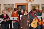 Zimní koncert Volného sdružení horažďovických zpěváků a muzikantů v Kašperských Horách