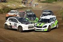 Otakar Výborný z Vrhavče s Mitsubishi Mirage (č. 202) dojel ve finálové jízdě v úvodním závodě ME v autokrosu 2017 v německém Seelow v divizi TouringAutocross na 5. místě.