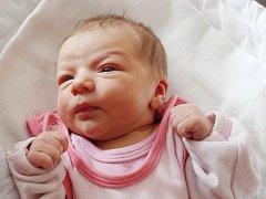 Elena Sýkorová zMalé Vísky (2850 g, 46 cm) uviděla světlo světa vklatovské porodnici 28. června ve 2.31 hodin. Znarození  prvorozené dcery se radují rodiče Šárka a Josef.