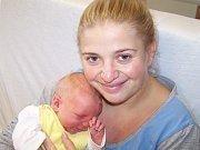 Daniel Pojar z Točníku (3830 g, 51 cm) se narodil v klatovské porodnici 26. listopadu v 20.35 hodin. Rodiče Michaela a Lukáš přivítali očekávaného prvorozeného syna společně na svět.
