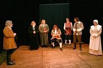 Příběh o čarodějnických procesech byl k vidění v Horažďovicích.