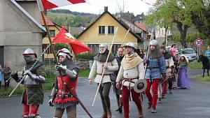 Narozeniny Karla IV. ve Velharticích.