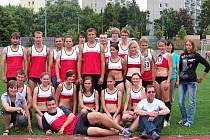 Družstva mužů a žen Atletiky Klatovy na 3. kole druholigové soutěže družstev.