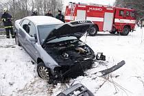 Čtvrteční dopravní nehoda v Železné Rudě
