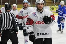 Jiří Uhlík (SHC Klatovy) byl v minulé sezoně nejlepším střelcem základní části skupiny Západ 2. ligy