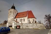 Kostel v Bukovníku.