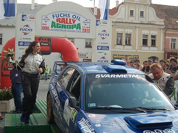 Rally Agropa 2011 - cíl