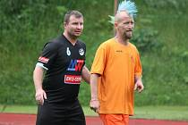 Klatovská Kapitol liga 2016: Vilyž team (oranžové dresy) - Mušlák team 1:4