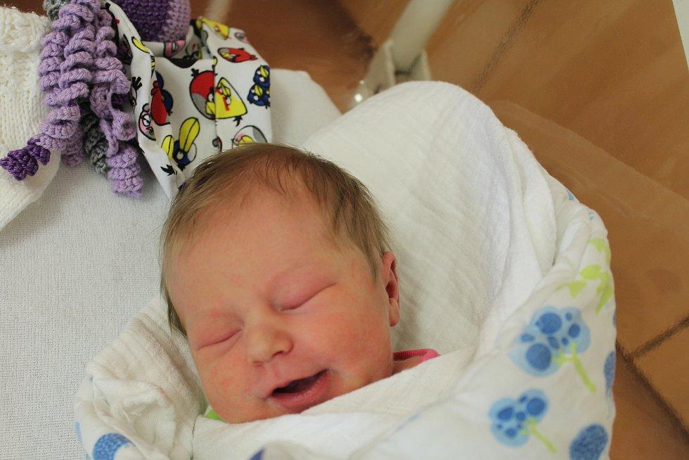 Laura Havránková zČerveného Poříčí se narodila vklatovské porodnici 16. září v15:38 hodin (3190 g, 48 cm). Pohlaví svého prvorozeného miminka věděli rodiče Karolína a Radek dopředu.