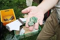 Školní zahrada ve Strážově skrývala poklad