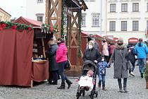 Vánoční trhy v Klatovech s Klatovským klášterním bazarem.