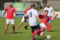 Přátelské utkání 2016: SG SK Klatovy 1898 (červené dresy) - Klub fotbalových internacionálů ČR 0:9