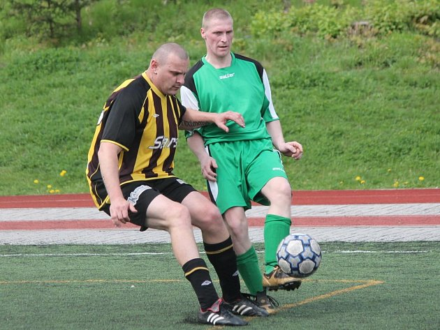 Open liga Tady a teď Nýrsko - FC BS Stars Klatovy 1 : 4