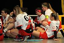 Juniorky Sport Clubu Klatovy.