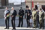 Uctění památky obětí srpnové okupace z roku 1968 v Klatovech